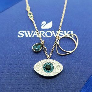 💧Swarovski SYMBOL Guardian Eye Necklace